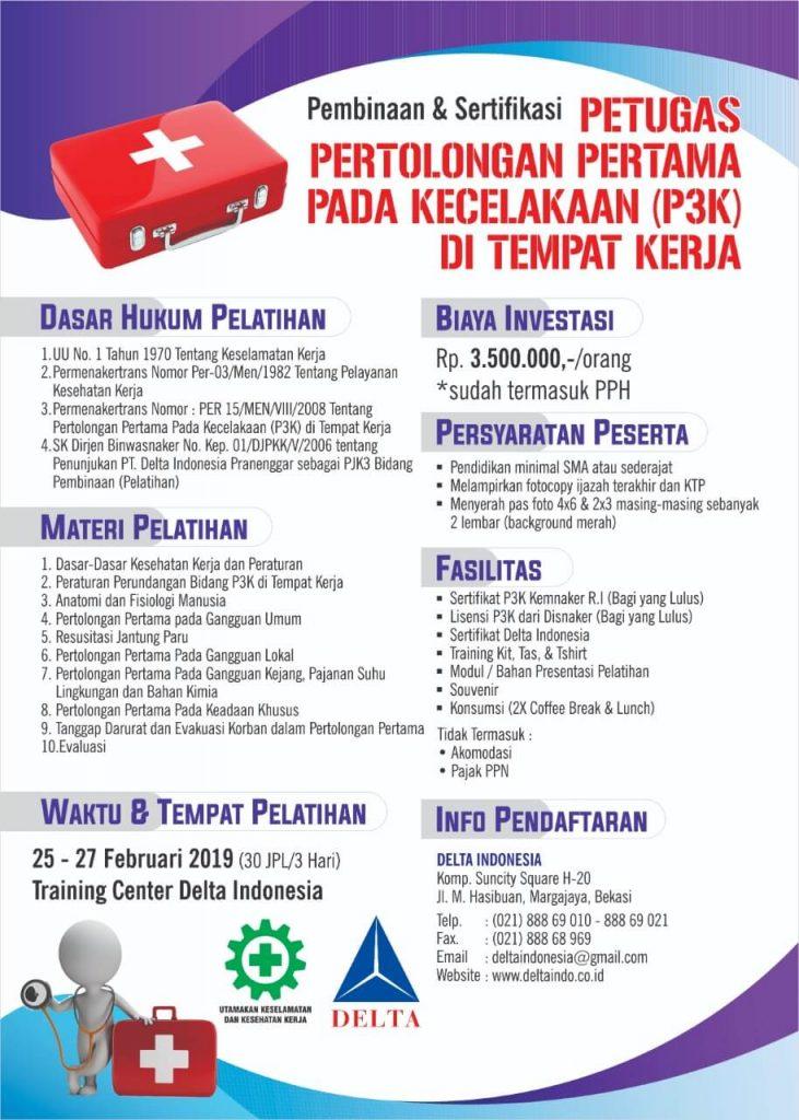 Pelatihan K3 Firts Aids Feb 19