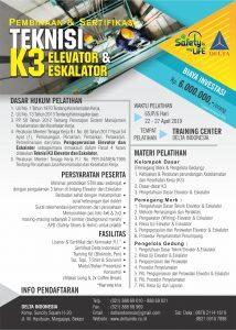 Jadwal pelatihan dan Sertifikasi k3 April 2019
