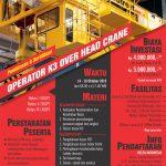 Pelatihan & Sertifikasi Operator K3 Overhead Crane Oktober 2019