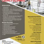 Pelatihan & Sertifikasi Petugas K3 Pereancah (Scaffolding) Oktober 2019