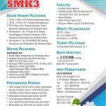 Pelatihan & Sertifikasi Auditor SMK3 Oktober 2019