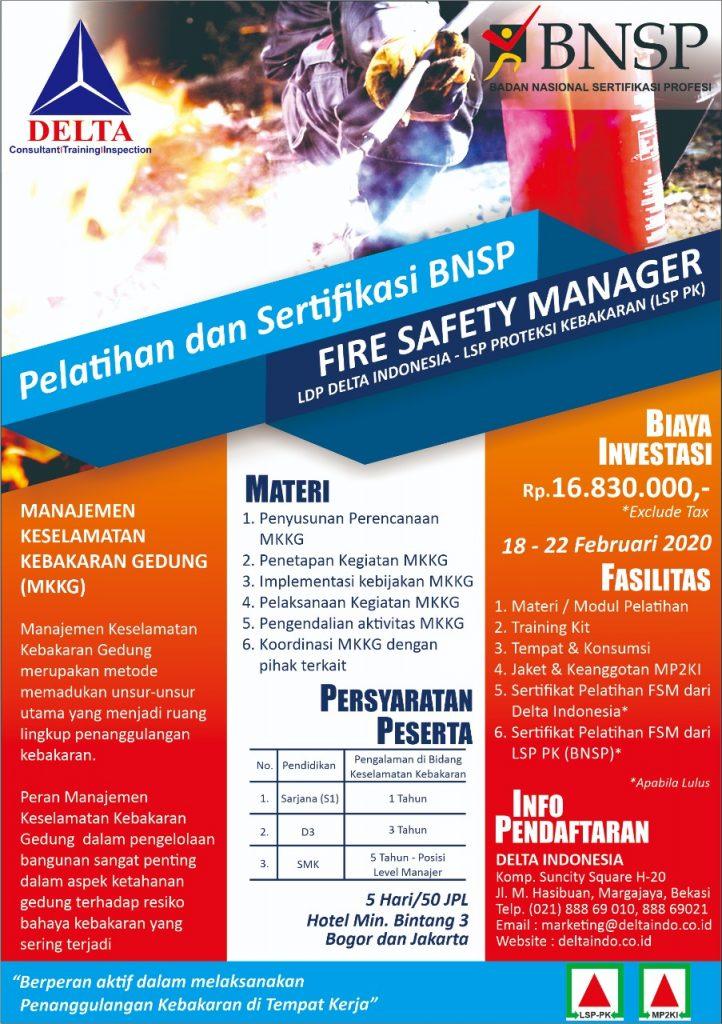 pembinaan & sertifikasi FSM Februari 2020